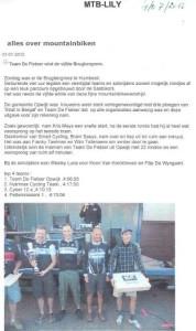 Team De Fietser wint de vijfde Brugbergrees