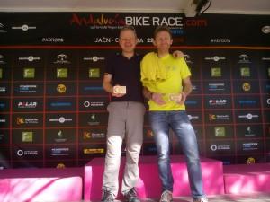 Wim en Wouter op de Andalucia Bike Race