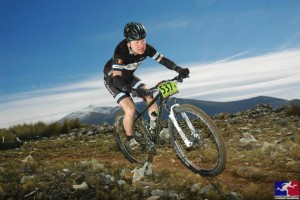 Wim tijdens de Andalusia Bike Race